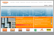 Copisa Group corporate website