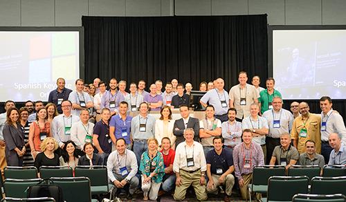 Última sesión de la conferencia mundial de partners de Microsoft