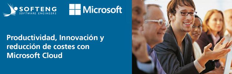 Material del evento sobre soluciones Cloud de Microsoft y Softeng