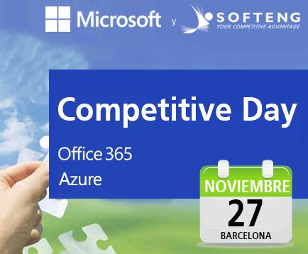 """MICROSOFT y SOFTENG organizan el evento """"Cómo impulsar la competitividad en tu empresa gracias a la nube"""""""