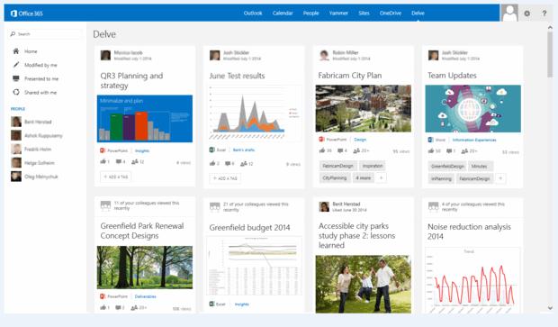 Microsoft lanza Office Delve, la herramienta de búsqueda personalizada de Office 365
