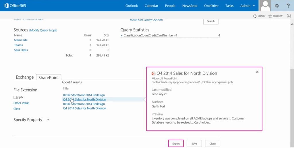 Data Loss Prevention por fin llega a SharePoint Online