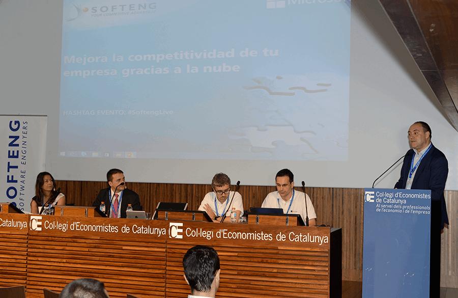 Éxito del evento sobre soluciones cloud de Microsoft y Softeng