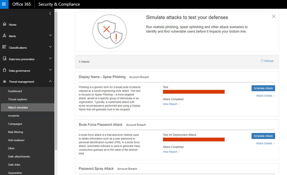 Te presentamos Office 365 Threat Intelligence de Microsoft