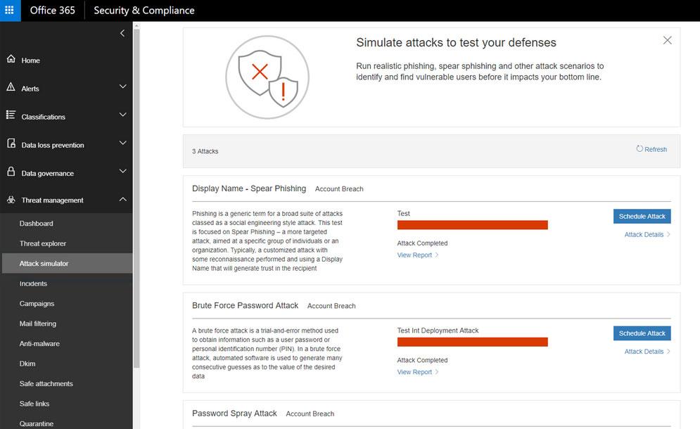 Te presentamos Office 365 Threat Intelligence de Microsoft