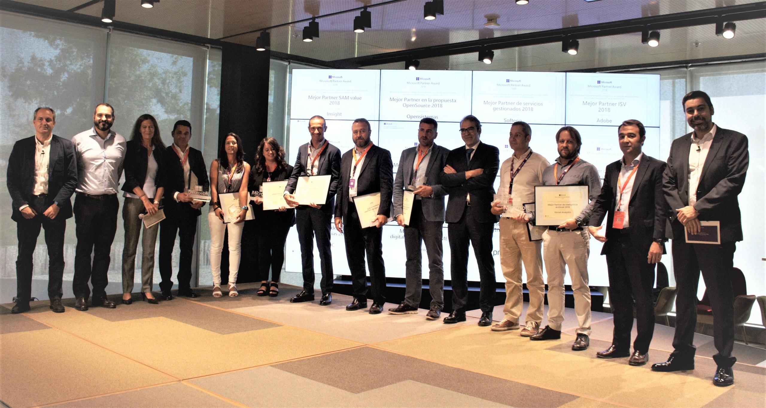 Softeng premia como mejor empresa en servicios gestionados 2018