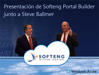 SOFTENG presents the case study of Softeng Portal Builder with Steve Ballmer