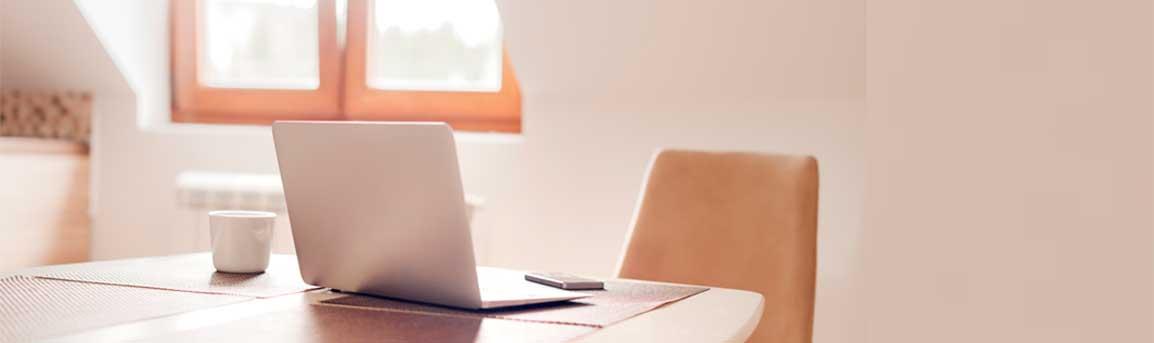 Cómo trabajar desde casa de manera productiva y segura