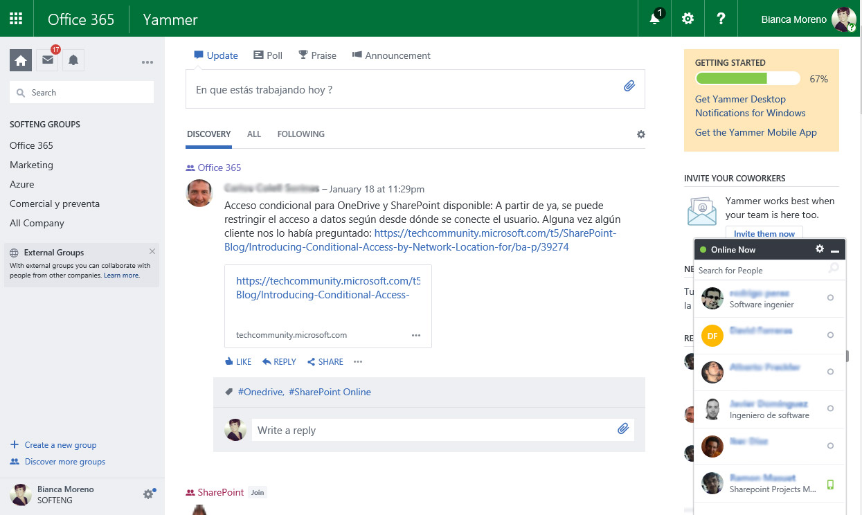 Discover when to use each Office 365 collaboration tool