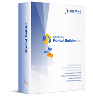 "Launch of the ""softeng Portal builder ™"" content management system"