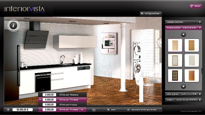 Aplicaciones interactivas para interiorismo potenciadas - Configurador cocinas ikea ...
