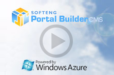 25,000 concurrent users visiting an site developed with Portal Builder.