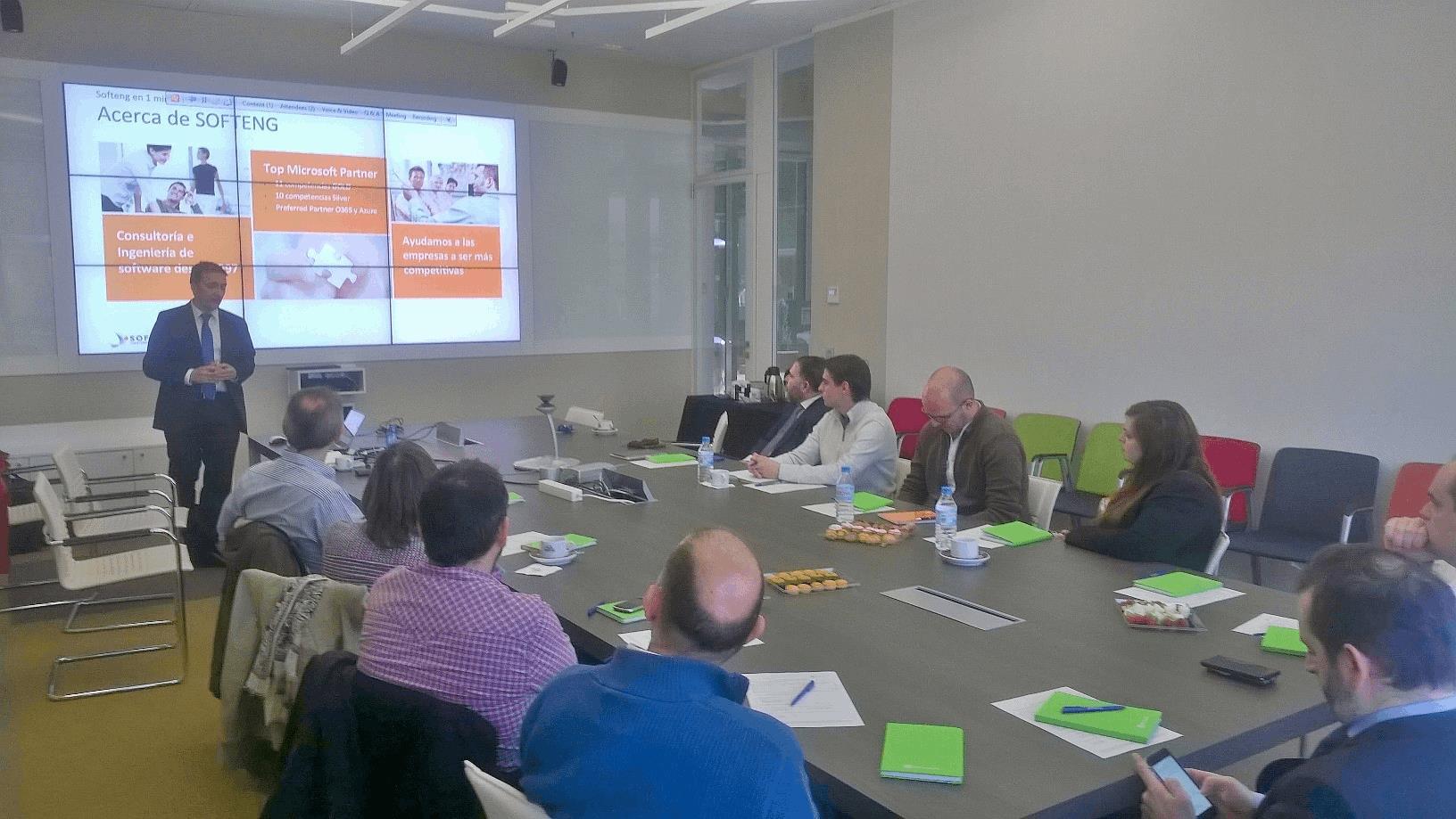 Softeng y Zepellin presentan la web de Gran Hermano en las oficinas de Microsoft