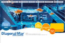 """Web del centre comercial """"DIAGONAL MAR"""""""