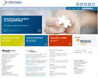 Softeng easily renews its website thanks to Portal Builder
