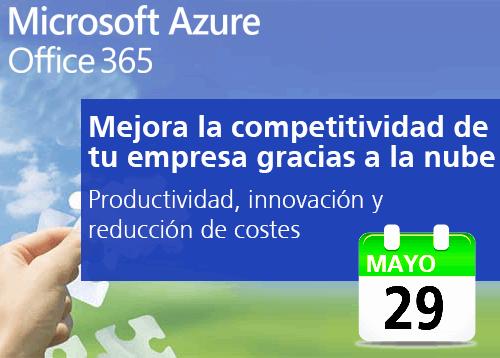 """MICROSOFT y SOFTENG organizan el evento """"Mejora la competitividad de tu empresa gracias a la nube"""""""