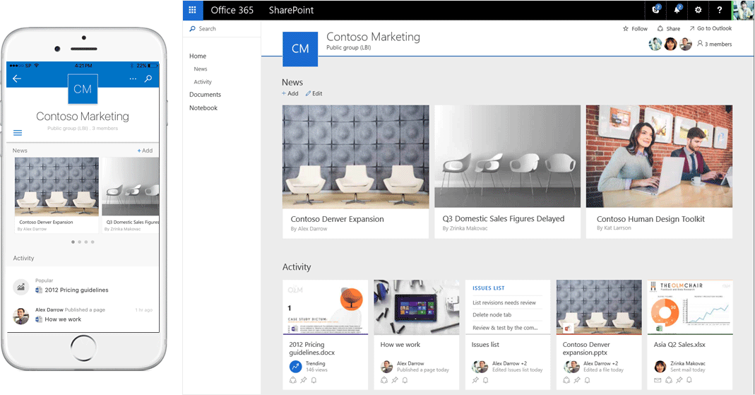 How to boost your productivity with the new SharePoint Online