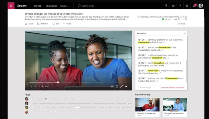 Haz tus comunicaciones más atractivas con Stream de Office 365