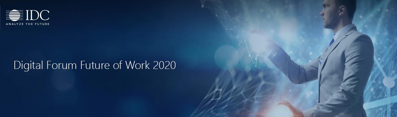 Cómo ha sido nuestra participación en el Future of Work 2020 de IDC